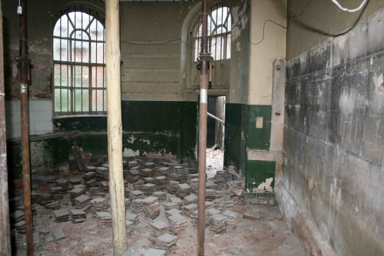 The Garden Room before restoration