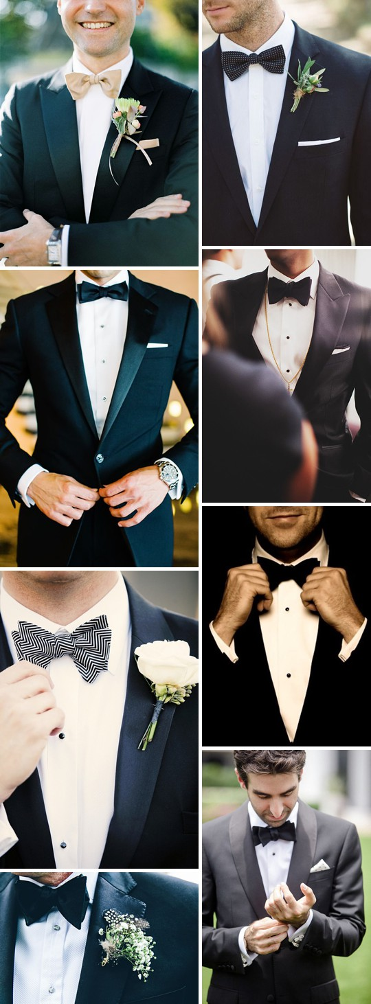 An Inspiration Post Filled With Ideas On What A Groom Can Wear On His Wedding Day_0001