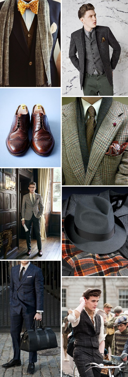 An Inspiration Post Filled With Ideas On What A Groom Can Wear On His Wedding Day_0004