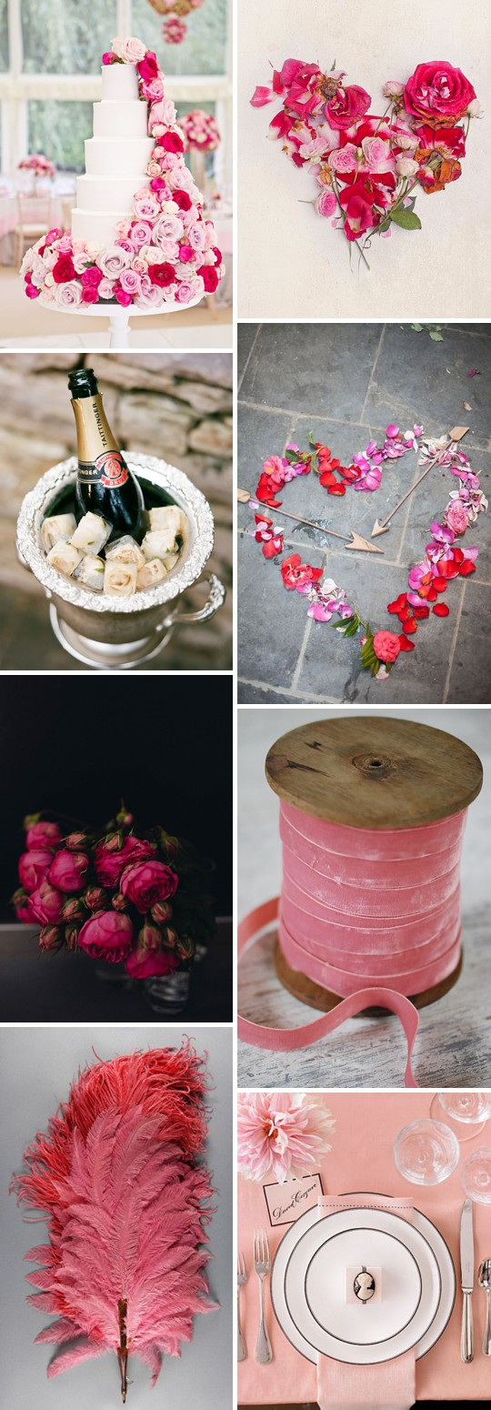 Iscoyd Park Romantic Valentine Themed Wedding Ideas_0004